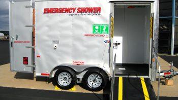 Permalink to: Remote Safety Emergency Safety Shower Trailer