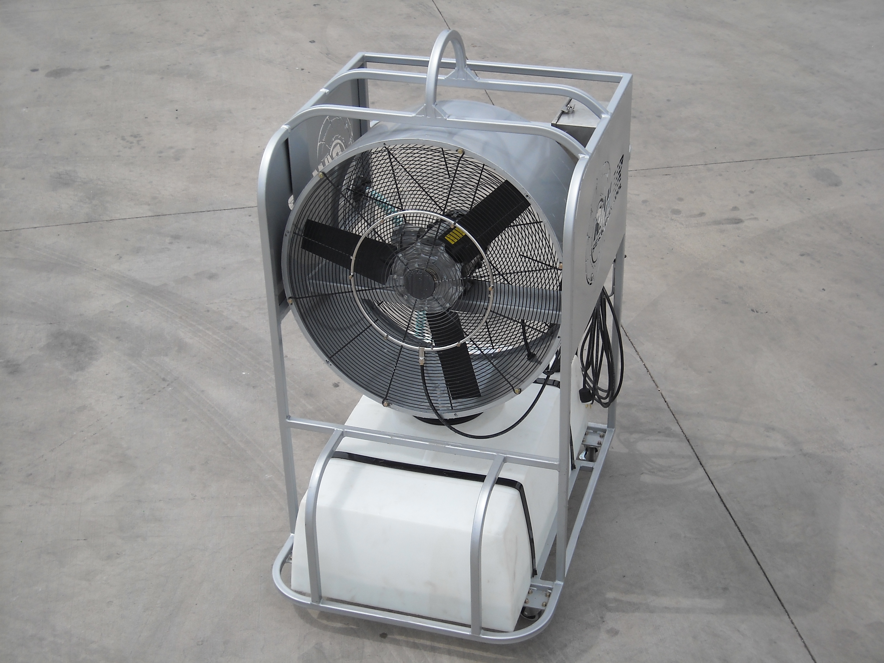 Air Misting Fan : Ram air misting fan